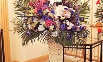 熊本県熊本市ホテル様へ祝花