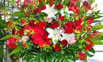 名古屋へスタンド花おしゃれなスタンド台