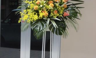 松下奈緒様へお祝いスタンド花